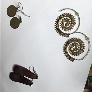 Collection of unique earrings